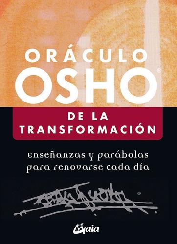 Imagen 1 de 1 de Oráculo Osho De La Transformación 60 Cartas Y Libro En Caja