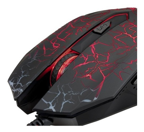Mouse Xtech Xtm-510 Gamer Usb Pc Notebook 6 Botones Febo