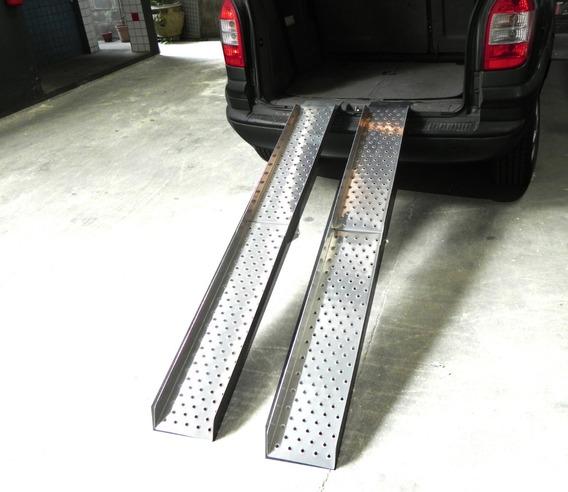 Rampa Carro Cadeira De Rodas Alum Motos Etc. 100% Aluminio.