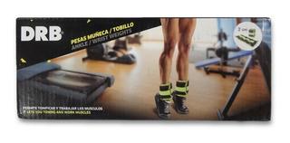 Par De Pesas Tobillo-muñeca Tobillera Fitness 0.5kg. Drb