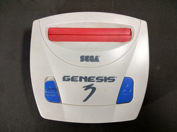 Sega Genesis 3 Mega Drive (com Defeito)
