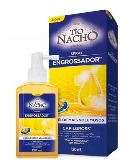 Tônico Spray Engrossador 120ml - Tío Nacho