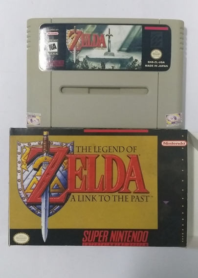 Snes The Legend Of Zelda: A Link To The Past Ptbr