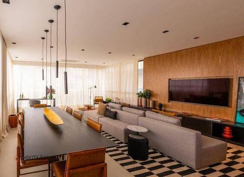 Imagem 1 de 30 de Apartamento Com 3 Suítes À Venda, 160 M² - Campo Belo - São Paulo/sp - Ap2040