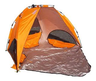Carpa Playera Aluminizada Foco Easy Tent 242x152x137 Cm Mm
