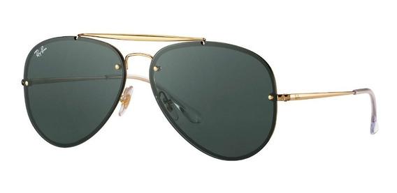 Óculos Ray Ban Aviador Blaze Rb3584 G15 Feminino Masculino