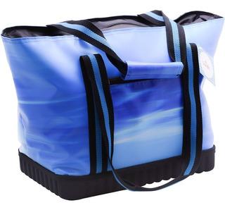 Bolsa Térmica Sunfit Piquenique 25 Litros, Azul