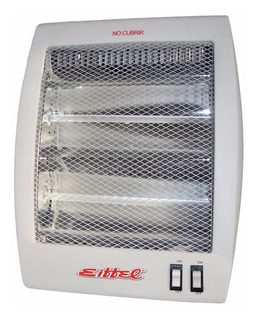Estufa Halogena 800 Watt 2 Tubos Eiffel-511 Corte Seguridad