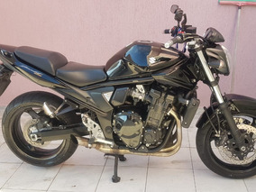 Bandit 1250 - Preta - Escapento Original - Manual - Etc