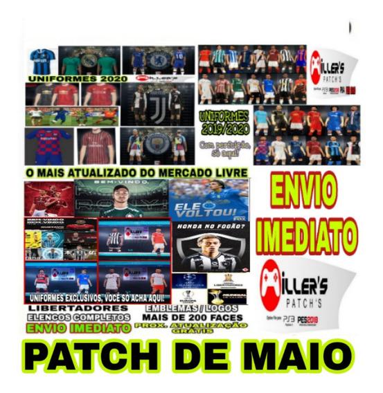 Patch Pes 19 Ps4 Option File Atualizado 2020 + Brinde
