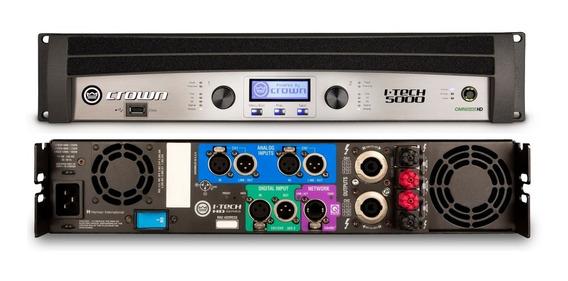 Amplificador Profesional Digital It5000hd Crown