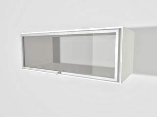 Mueble De Cocina Alacena 80 X 30 Rebatible Vidrio Aluminio