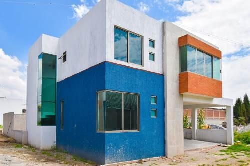 Casa En Venta En Metepec Nueva.