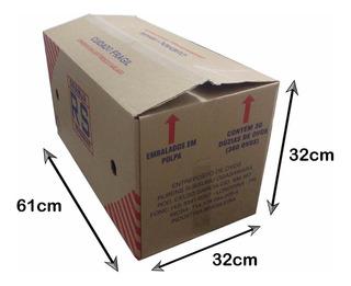 Caixa De Papelão De Ovos Grande Usada P/ Mudança Kit 10 Un