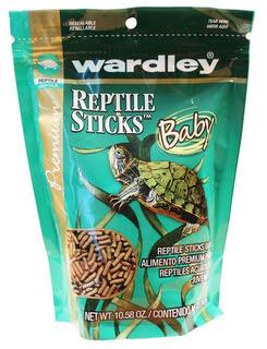 Alimento Reptile Sticks Tortugas Pequeñas 300 Grs Wardley