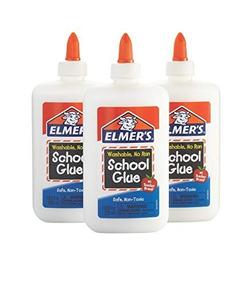 Kit Elmers Slime Cola Branca 225ml Cada 3 Unidades -promocao