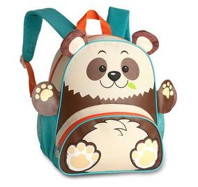 Mochila Infantil Animais Zoo Clio Pets - Panda