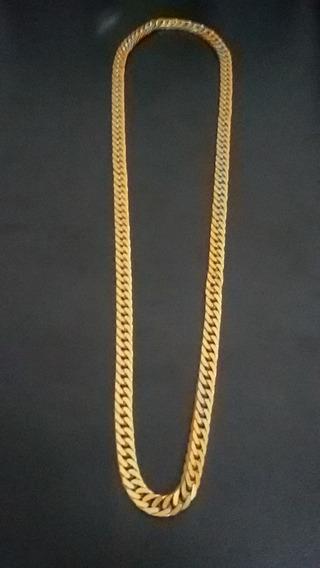 Cordão Italiano - Foleado/banhado A Ouro 18k