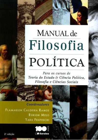 Manual De Filosofia Política - Para Os Cursos De Teoria Do