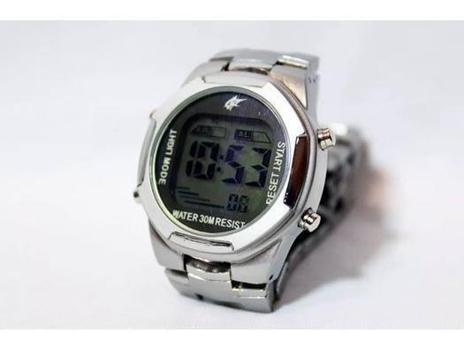 Relógio Potenzia Masculino Prata Digital Pulso -