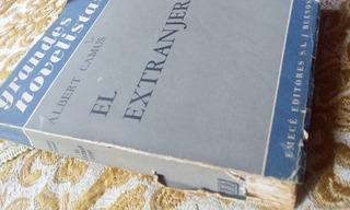Albert Camus / El Extranjero Edit. Emece - Envios