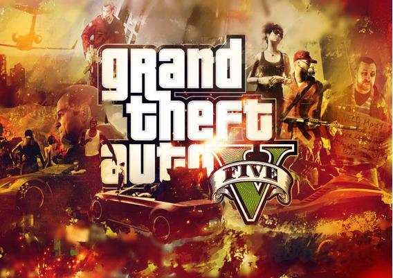 Poster Cartaz Gta V 5 Pc Ps3 Ps4 Xbox 360 Playstation