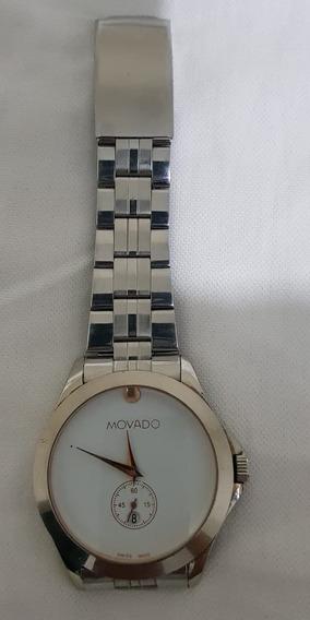 Reloj Para Hombre Plata Usado