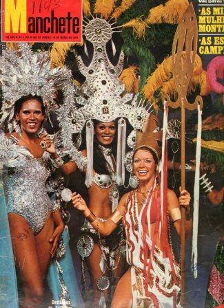 Manchete 1974 Ponte Rio Niteroi Zé Do Caixão Rejane Medeiros