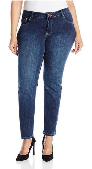 Jeans Dama 28w Long Lee Midrise Dream Skinny Leg Super Stret
