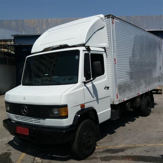 Mb 914 Ano 1995 **com Motor Novo** Baú De 5,50 Metros