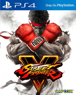 Street Fighter V Digital Latino Ps4