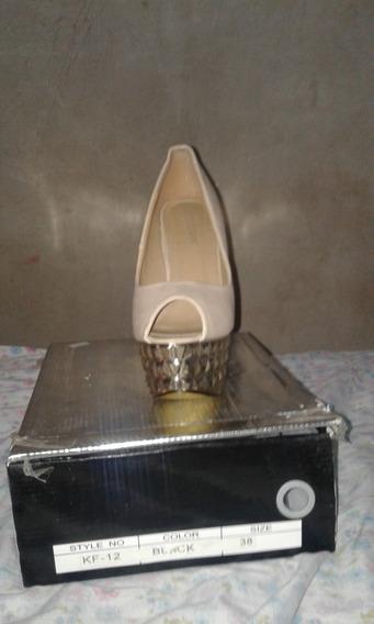 Zapatos Mujer Taco Aguja Nuevos