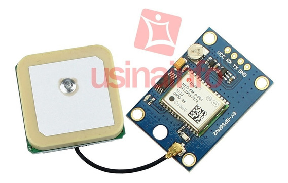 Módulo Gps + Antena Para Arduino E Raspberry Pi - Gy-gps6mv