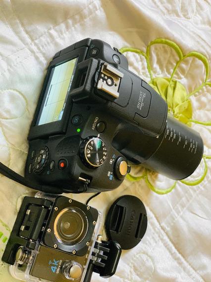 Câmera Cânon Sx50 Super Zoon E Filmadora De Movimento 4k