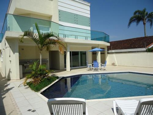 Casa Com 4 Dormitórios À Venda, 350 M² Por R$ 1.180.000,00 - Enseada - Guarujá/sp - Ca2688