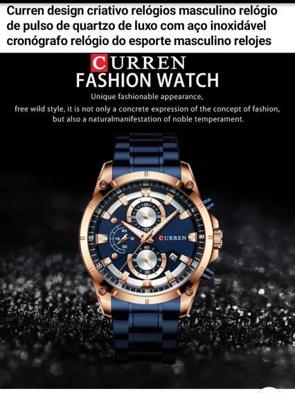 Curren Relógios Masculino