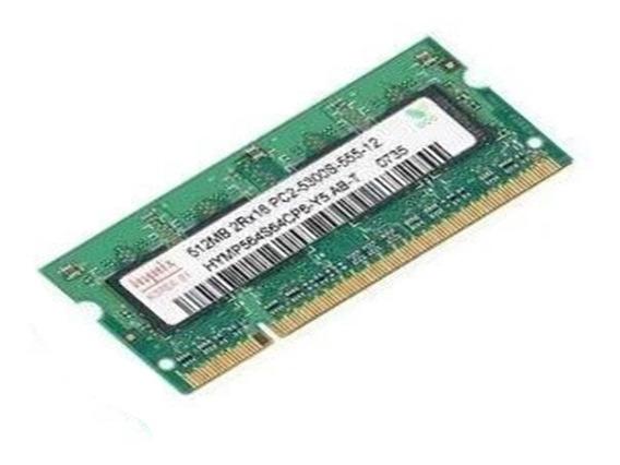 Memória Ram Notebook Hys 512 Mb Ddr2 Barramento 667 A2889