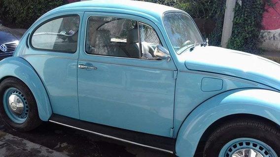 Vendo Hermoso Vocho Vw Sedan 1993 Azul Bebé
