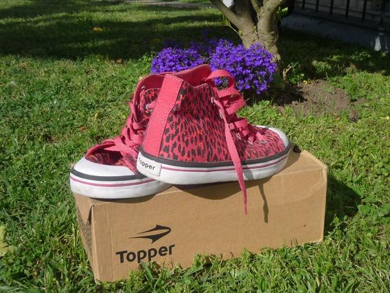 Zapatillas Topper Urbanas Talle 34