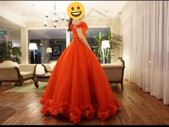 Vestido De 15 Años Rojo