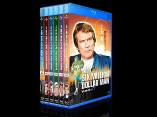 El Hombre Nuclear - The Six Millon Dólar Man Blu-ray Serie