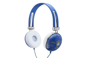 Fone De Ouvido Com Fio Brasil Cbf Waldman Sg10 Cor Azul