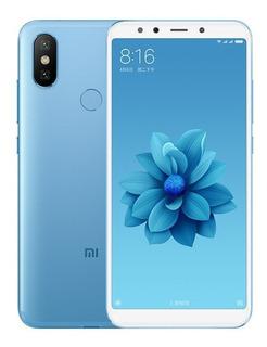 Teléfono Inteligente Xiaomi A2 4 + 64gb Versión Global, Azul