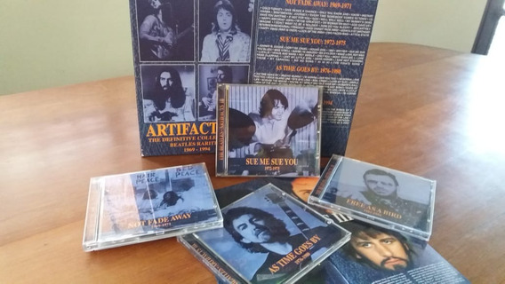 Artifacts Vol Iii Beatles Box Com 4 Cds