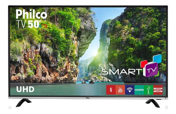 Smart Tv Philco 4k Led 50 Ptv50f60sn Netflix Bivolt