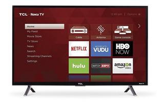 Nueva Tcl 32s305 Smart Tv 32 Roku Hd Wifi Doble Banda 12 Msi