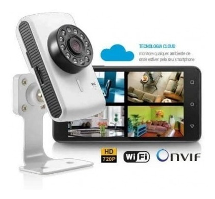Câmera Ip Wireless Plug And Play Acesso Remoto - Multilaser