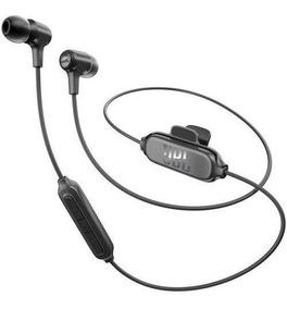 Fone De Ouvido Jbl E25 Bt Bluetooth Com Microfone Preto