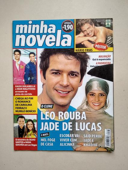 Revista Minha Novela 125 Silvio Santos Carla Perez C592