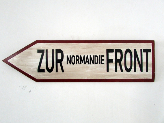 Placa Zur Normandie Front Segunda Guerra Normandia